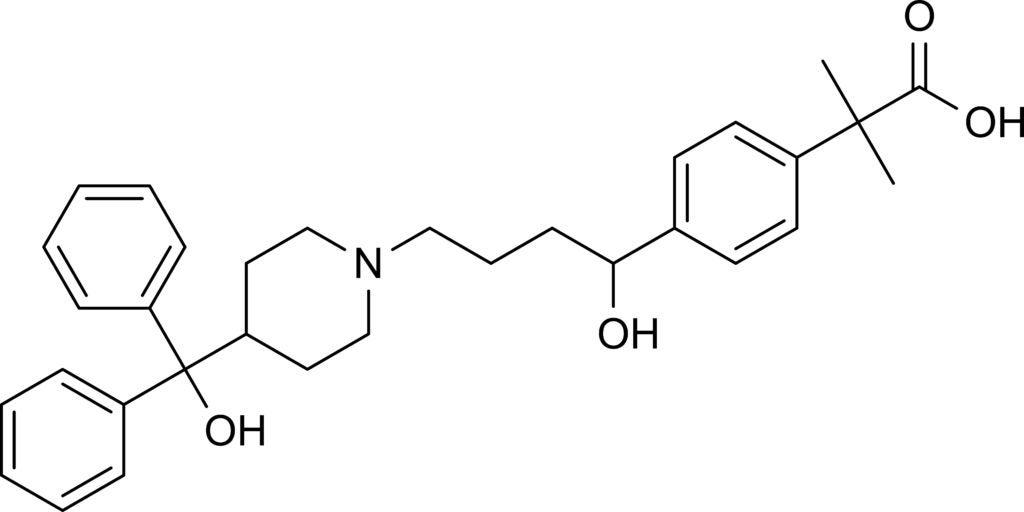 Fexofendaine molecule